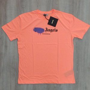 Palm Angels Shangai Printed T-Shirt ,Men's, NWT
